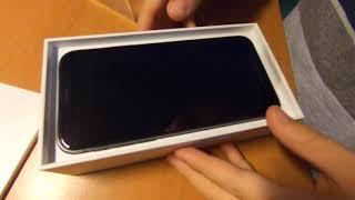 Распаковка нового Iphone Xs 64 Gb space gray космический серый