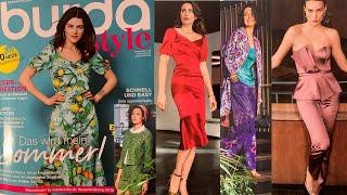 Burda Style 06 2021 Модные тренды сезона весна лето 2021 Розыгрыш журналов