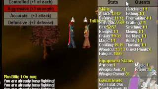 Runescape Classic PKing (2003)