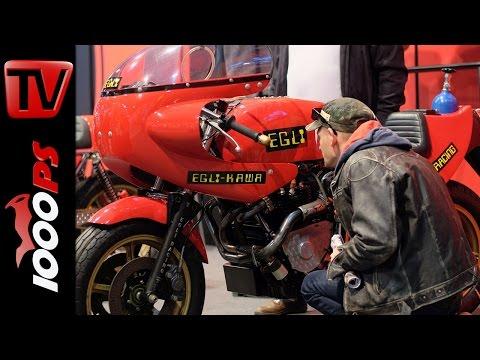 200PS Turbo Kawasaki Egli Motorradtechnik @SWISS MOTO 2016