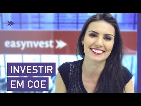 Aprenda tudo para você investir em COE!
