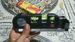 Waterpass Laser Level Fixit 3 in 1 ada Penggaris & meteran screenshot 3