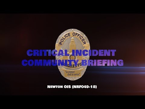 Critical Incident Video Release, NRF049-18