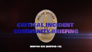 Critical Incident Video Release, NRF049-18