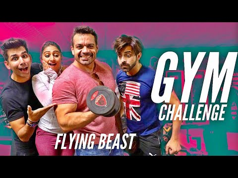 GYM Challenge | Rimorav Vlogs & Flying BEAST