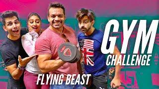 GYM Challenge | Rimorav Vlogs & Flying BEAST