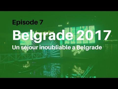 Voyage Belgrade 2017   Episode 7 - The Belgrade RIver Night Club