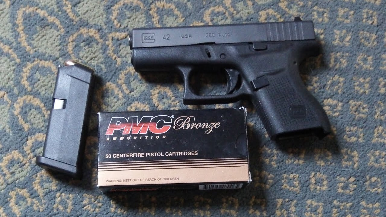 Glock 42  380 My short, personal opinion