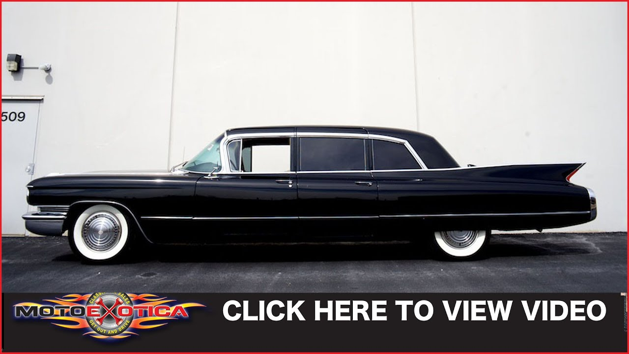 1960 Cadillac Fleetwood Limo Sold Youtube