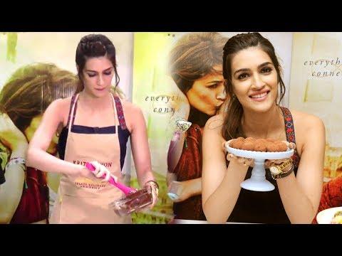 Kriti Sanon MAKES Chocolate In Public At Raabta Promotions