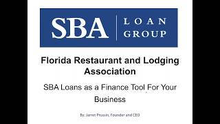 SBA Loan Group: A Finance Tool for Your Business