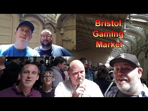 Bristol Gaming Market - Footage & Pickups