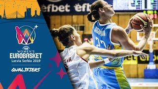 Bulgaria v Ukraine - Full Game - FIBA Women's EuroBasket 2019 - Qualifiers 2019