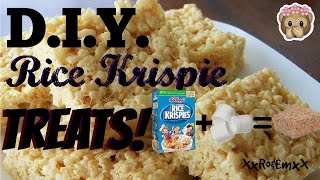 D.I.Y. Rice Krispie Treats! (Real Audio | Crunchy Sounds)