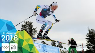 Cross-Country Cross - Moa Lundgren (SWE) wins Ladies' gold | Lillehammer 2016 Youth Olympic Games