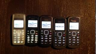 nokia 1110 , Nokia 1202, Nokia 1280