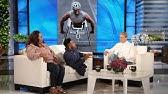 Ellen Meets an Inspiring College Wrestler and His Mom