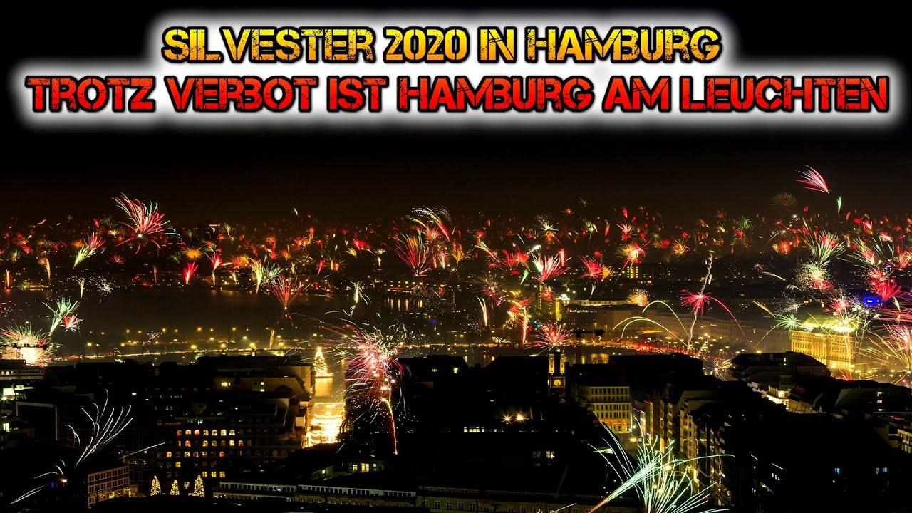 Silvester 2020/2021 in Hamburg | Trotz Verbot ist Hamburg am leuchten | MSD Firework
