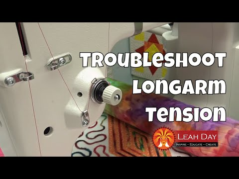 Troubleshoot Longarm Tension Issues on the Grace Qnique 14+