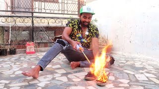 BURNING MY MOM's SHOES ? !!! *…