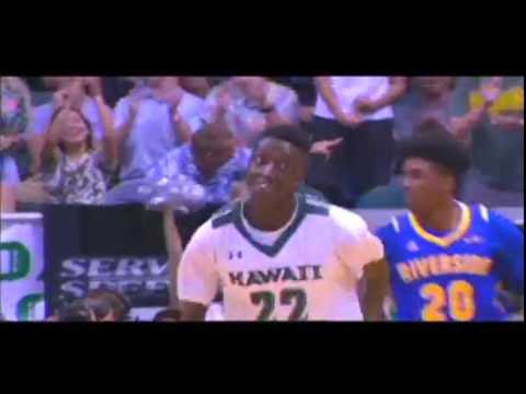 Sheriff Drammeh Hawaii Rainbow Warriors Basketball Mixtape 2015-16