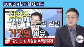 1부 김경수, 청와대의 거짓말! 드루킹 관련 무엇을 숨기고 싶은 것일까? 한국판 워터게이트! [정치분석] (2018.04.17)