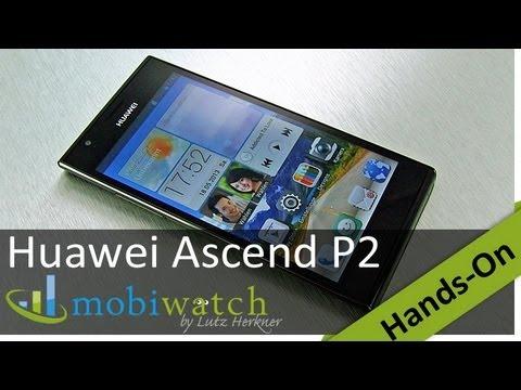 Huawei Ascend P2: Schicker Flachmann mit neuer Nutzeroberfläche