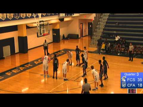 CFA Varsity Boys vs. Fayetteville Christian School