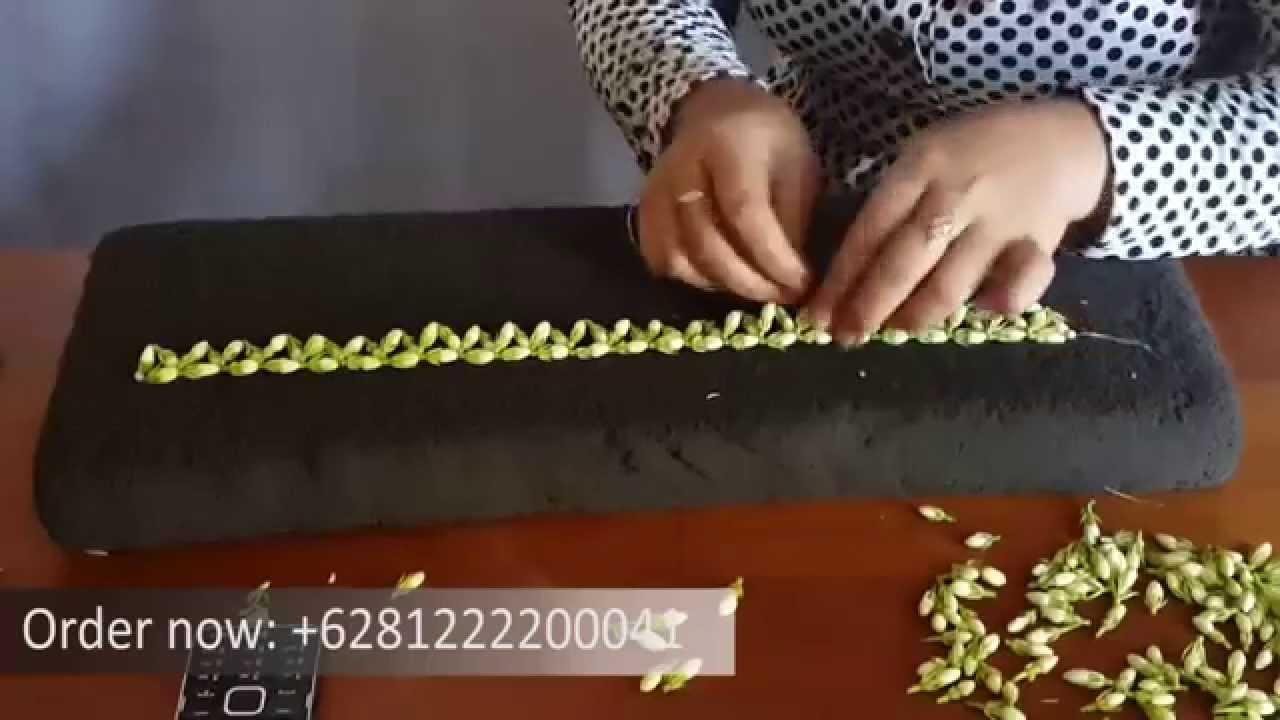 Making Of Kawungan Yuyuns House Jamine Jasmine Handwork Kn70890 Kalung Choker Bunga