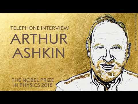 """""""When I described catching living things with light people said, 'Don't exaggerate Ashkin'."""""""
