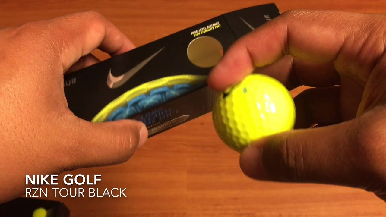 Nike Golf RZN Tour Black Spec Overview and Look - YouTube cdb8c30e5