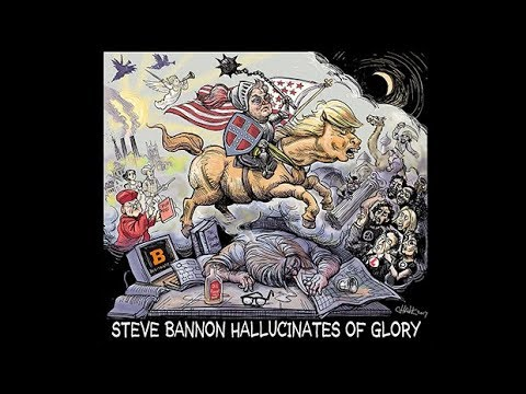 Max Blumenthal and Paul Jay live on firing of Steve Bannon