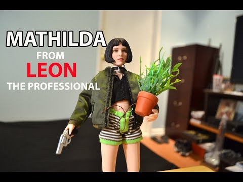 16 MATHILDA from LEON the PROFESSIONAL Figure unboxing & ! natalie portman