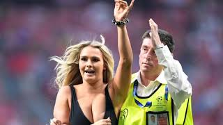 liverpool vs tottenham girl runs on pitch champions league final 2019