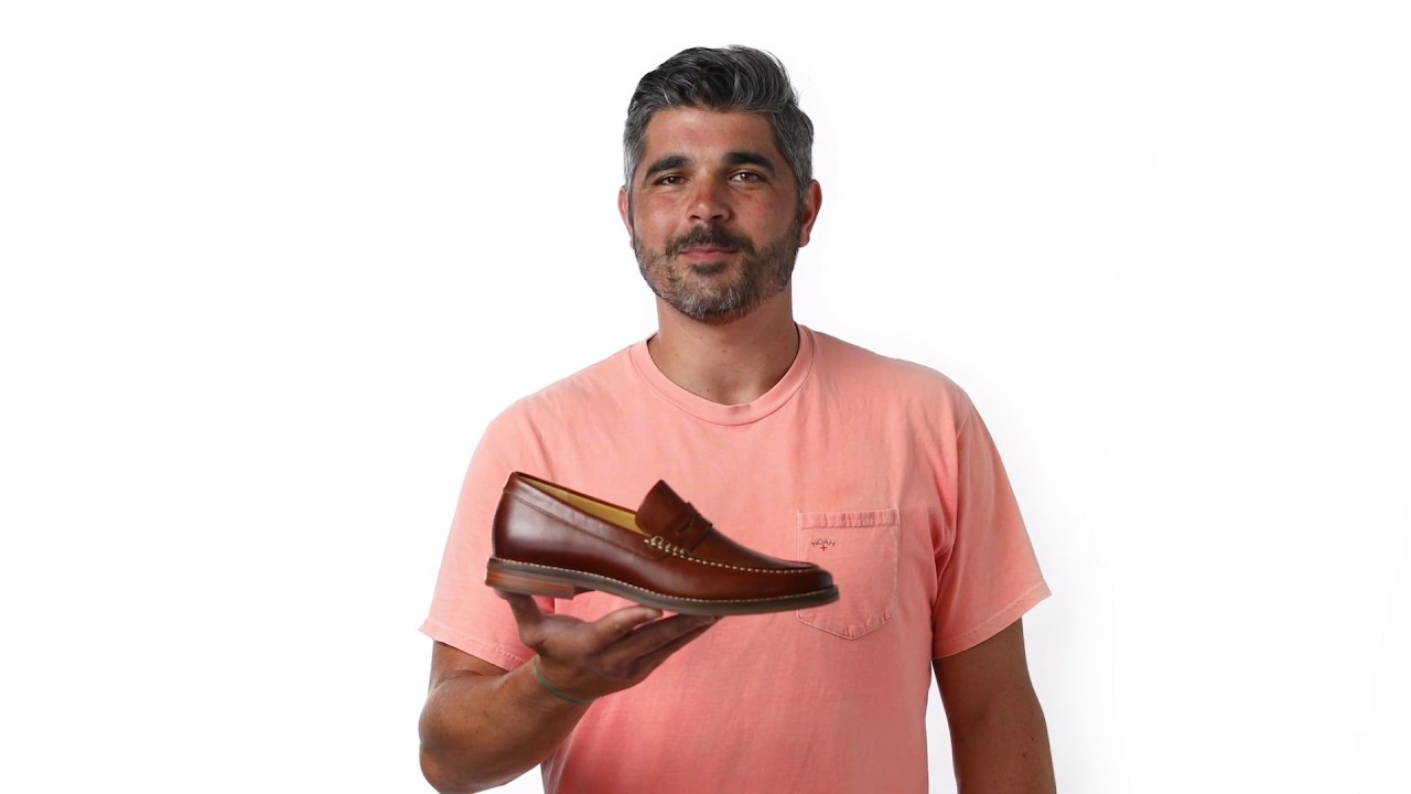 231623851a1 Behind the Design  Sperry Gold Cup Exeter Penny Loafer - YouTube