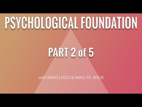Trader's Hierarchy of Needs - Part 2: Psychological Foundation