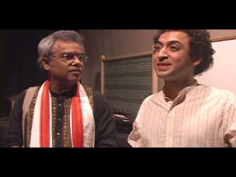 Tarun Bhattacharya & Roozbeh Nafisi talk on santur project