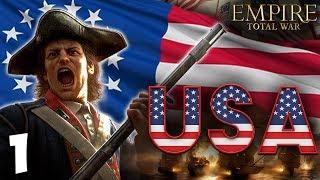 THE USA RISES!  Empire Total War: Darthmod - USA Campaign #1