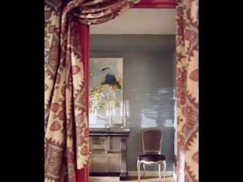 Красивые шторы на дверь и дверной проем украсят наш дом