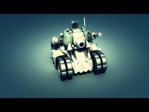 Metal Slug Tank Model - 3D Max