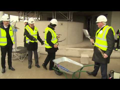 Blavatnik School of Government Topping Out Ceremony