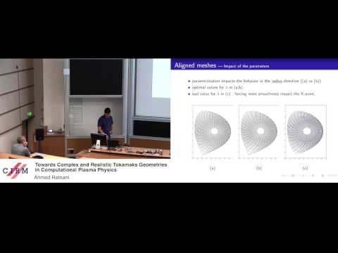 Ahmed Ratnani: Towards complex and realistic tokamaks geometries in computational plasma physics