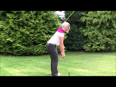Brilliant posture drill for a better golf swing