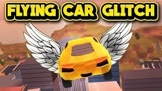 FLYING CAR GLITCH! (ROBLOX Jailbreak)