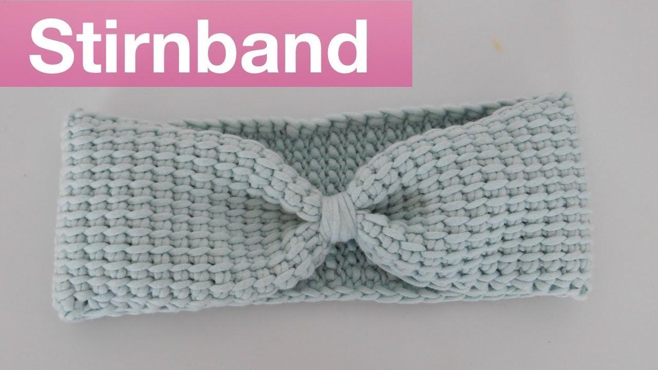 Tolles Stirnband häkeln | Tunesisch häkeln |Tunesisches Stirnband ...