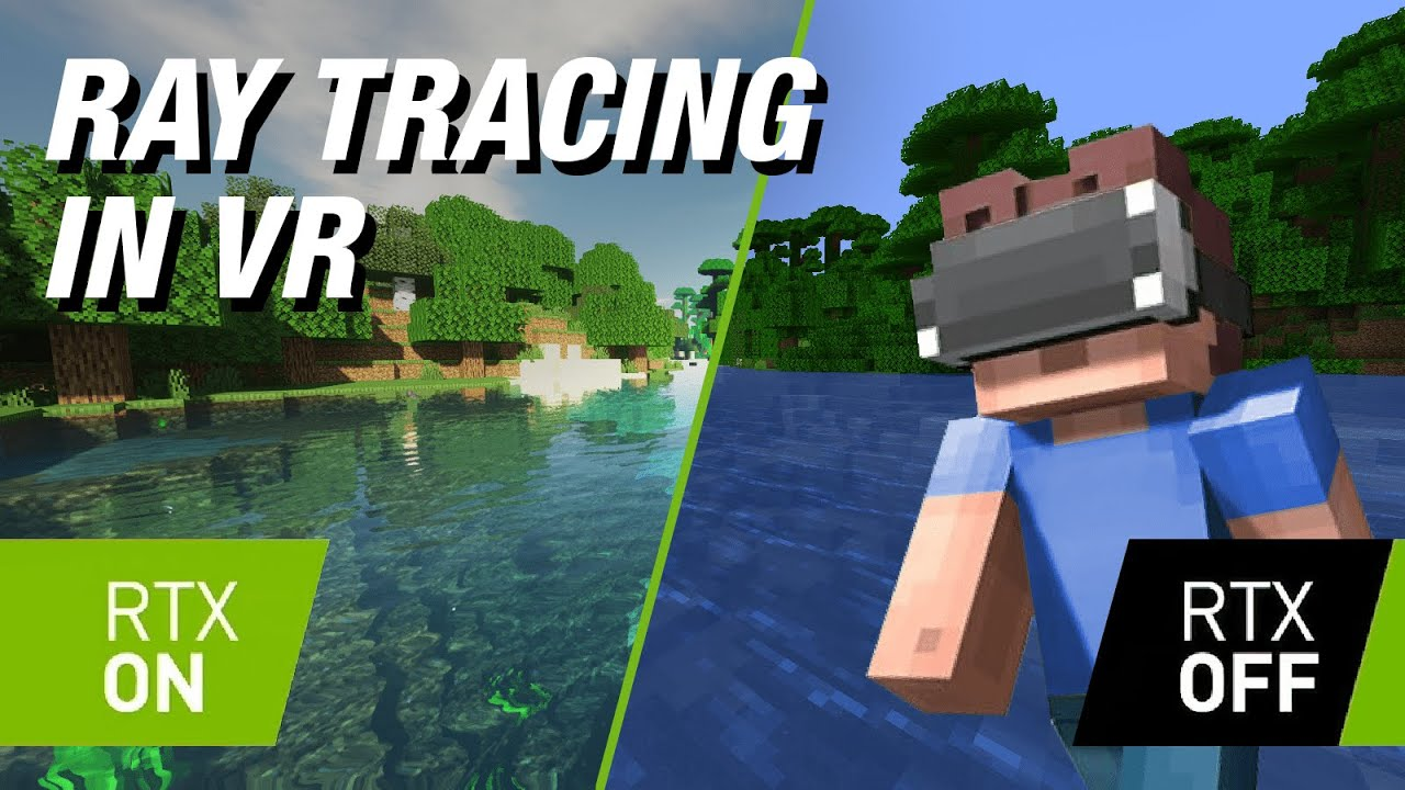 VR Minecraft with Ray Tracing is BREATHTAKING (And a BAD IDEA)