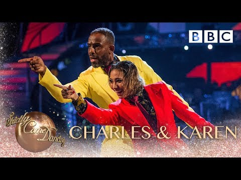 Charles Venn and Karen Clifton dance to 'Get Up Off That Thing' - BBC Strictly 2018