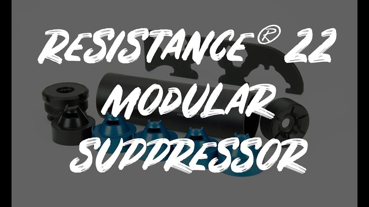 Griffin Armament Resistance 22 Modular Suppressor
