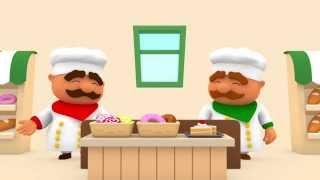 """Развивающий мультфильм: """"Считаем с Полой"""". Цифра 1. Пасхальные яйца."""
