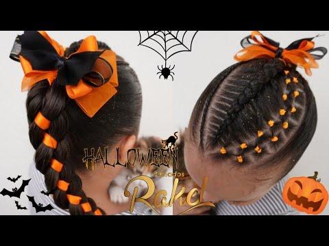 Peinados faciles y rapidos para halloween
